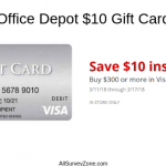 www.tellofficedepot.com | Complete Office Depot® Survey & Get $10 Off
