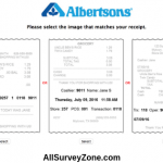 Albertsons Survey - Complete Albertsons® Guest Survey & Win $100 Gift Cards