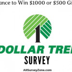 Dollar Tree Survey @ www.DollarTreeFeedback.com & Win $1000 or $500 Cash Prize