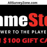 TellGameStop Customer Survey - Win $100 Gift Cards