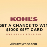 www.kohlslistens.com | Take Kohlslistens Survey & win $1000