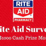 Steps to Complete the StoreSurvey.RiteAid.com Survey and Win Prize of $1000 Monthly