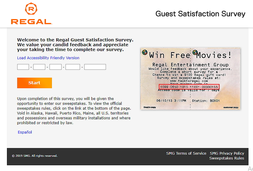 Steps to Complete the TalkToRegal Survey and Win $100 Gift Card for Free