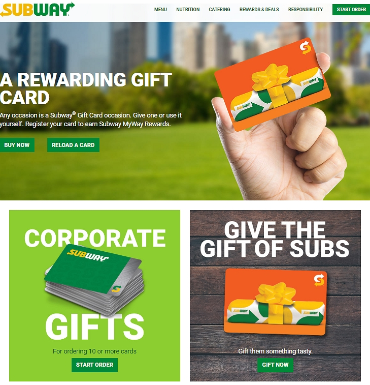MySubwayCard - Register At www.Mysubwaycard.com | Win $2 Freebies
