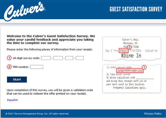 Steps to Complete the TellCulvers Survey and Win Free Custard