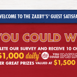 Myzaxbysvisit.com – Win Prize of $1000 Daily and $1500 weekly