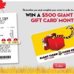 www.GiantTiger.com - Complete Survey and Get a Chance to Win $500 Gift Card