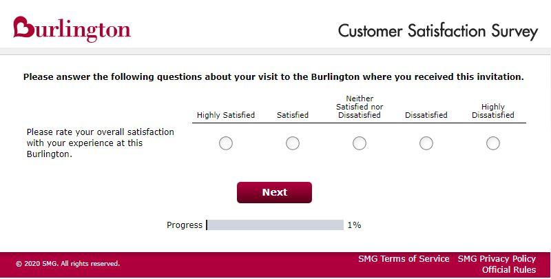 Burlington Feedback Customer Satisfaction 2