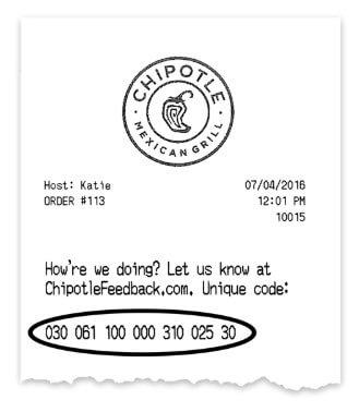 Chipotle Customer Survey