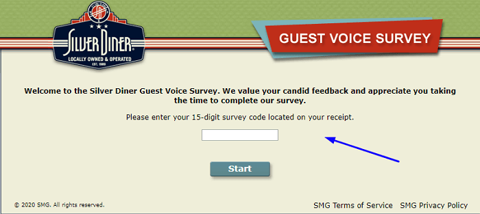 Steps to Complete the Silver Diner Guest Voice Survey - Win Meals