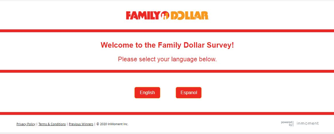 Steps for Completing the Family Dollar Customer Experience Survey