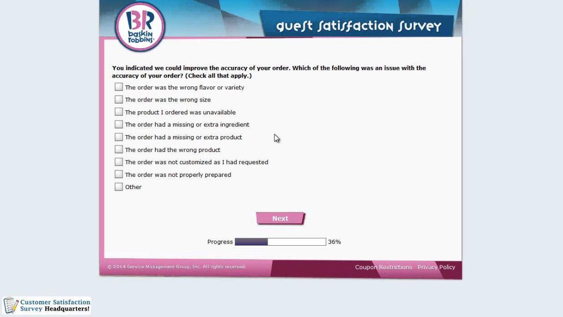 tell-baskins-robins-survey-process