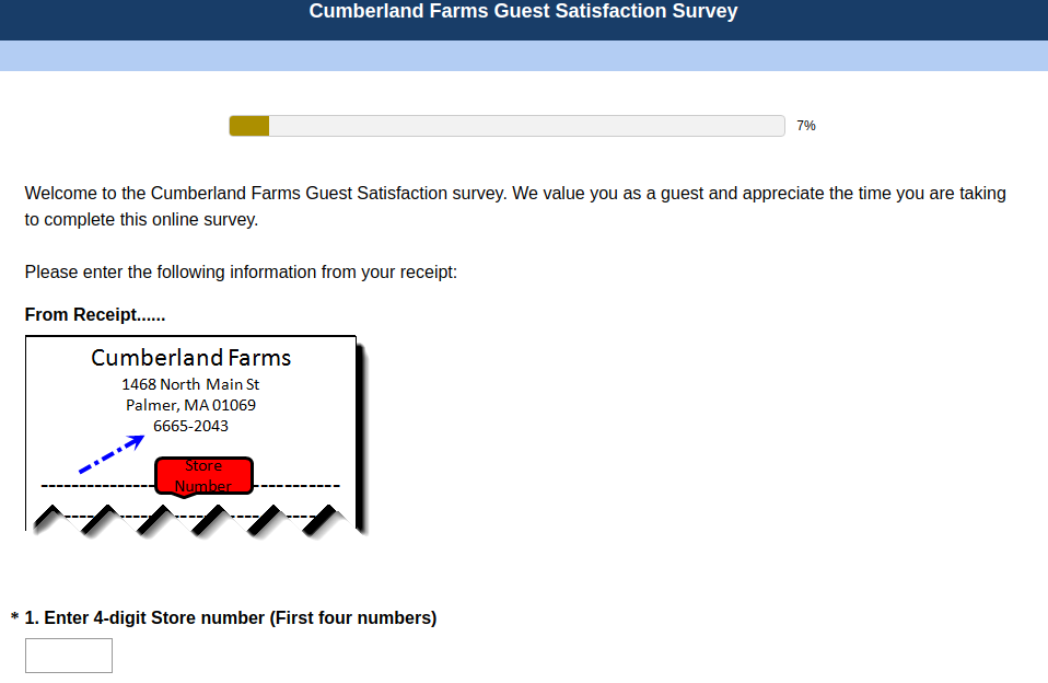 Cumberland-Farms-Guest-Satisfaction-Survey